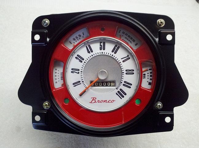 Early Bronco Custom Color Inner Bezel Image