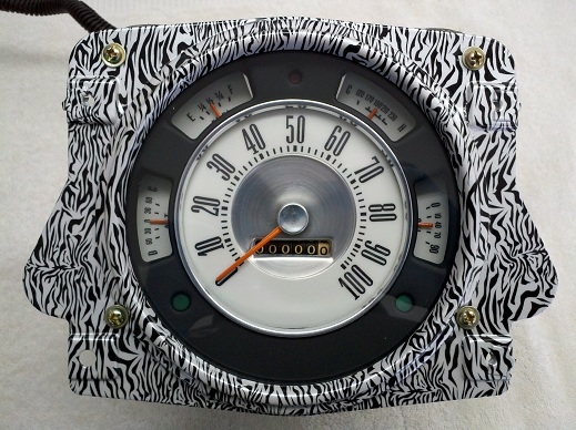Early Bronco Custom Pattern Outer Bezel Image