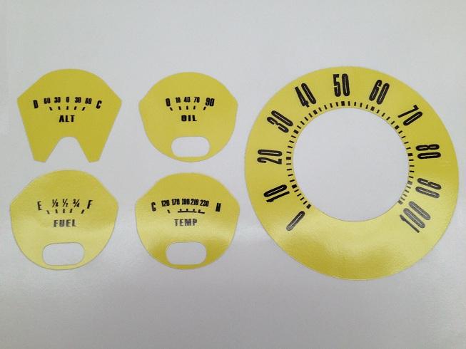 Early Bronco Custom Color Vinyl Decal Set Image
