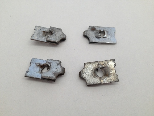 Early Bronco Gauge Clip Set Image