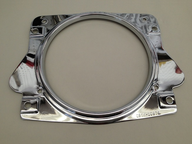 Early Bronco Chrome Outer Bezel Image