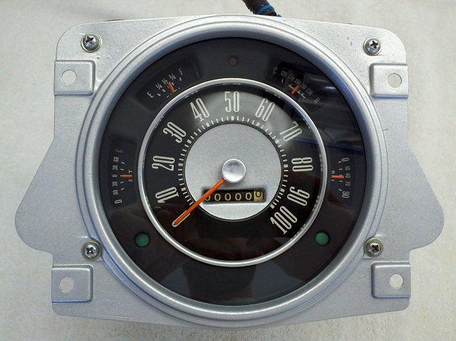 Early Bronco Fully Restored Gauge Cluster Image