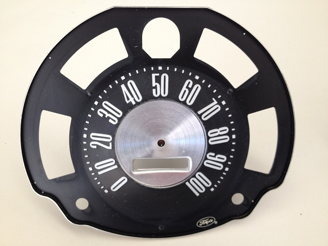 Early Bronco 66-67 Restored Speedometer Image